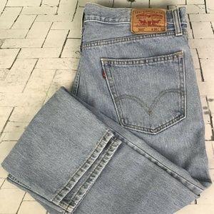 Levi's 505 Mens Jeans Size 36W x 30L Straight Fit